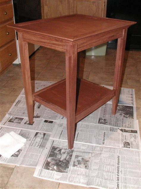 Wood Magazine End Table Plans