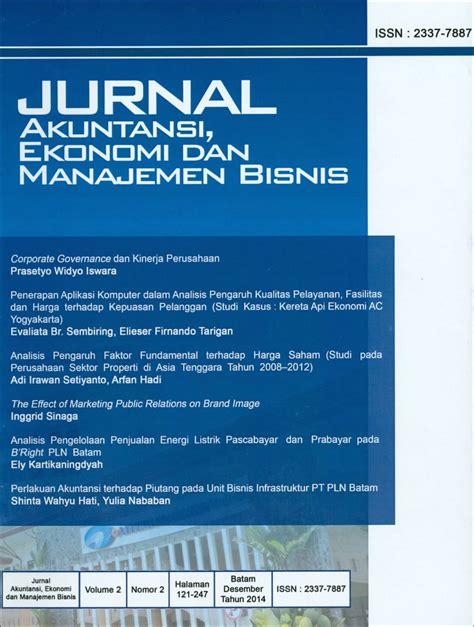 cara membuat jurnal manajemen bisnis archives jurnal akuntansi ekonomi dan manajemen bisnis