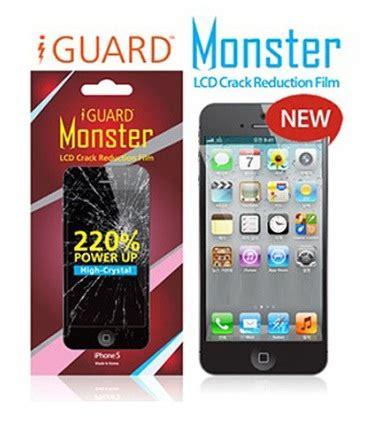 Iphone 5 Iguard iguard นว ตกรรมฟ ล มป องก นกระจกแตกร าวสำหร บ
