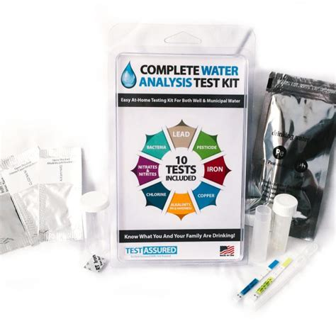 complete water testing kit to test at home watertestingkits