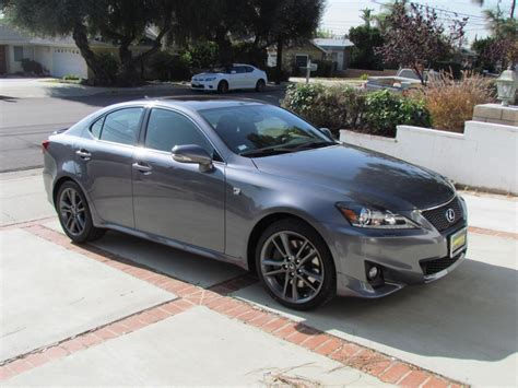 gray lexus california 2011 2012 is 250 350 f sport owners clublexus