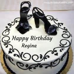 fashion happy birthday cake for regina