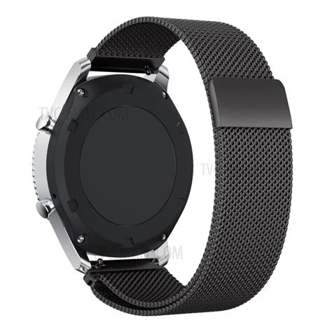 Milanese Samsung Gear S3 Classic Frontier Stainless Steel Band luxury milanese stainless steel magnetic band for samsung gear s3 frontier s3 classic