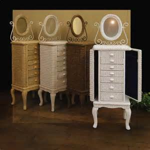 Wicker Jewelry Armoire Furniture Gt Bedroom Furniture Gt Jewelry Chest Gt Antique