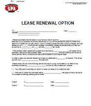 lease renewal letter to landlord
