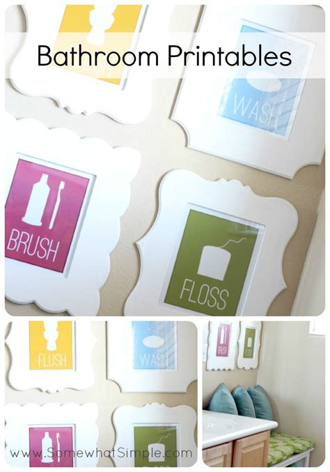 bathroom art printables free printable bathroom art free printable included