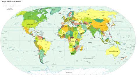 atlas del mundo el mapamundi con nombres