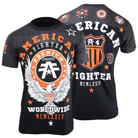 T Shirt Mma Fighter american fighter drexel t shirt black mma bjj ufc ebay