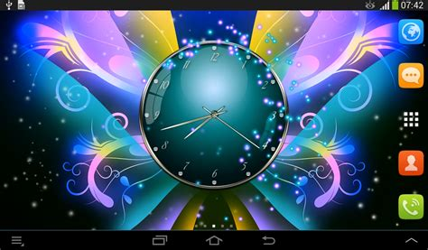 pakistan themes clock amazon com clock with butterflies appstore for android