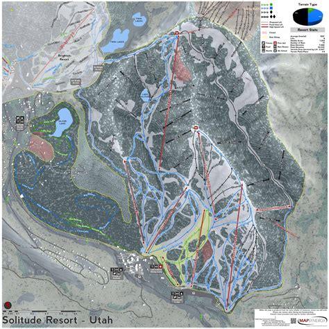 solitude trail map utah ski maps solitude ski resort trail map