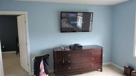 Tv Mount Bedroom by Burlington Ct Tv Mounting On Wall In Bedroom Richey Llc Audio Experts