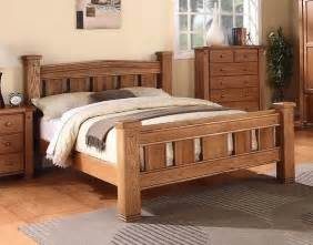 King Size Bed Frame For Sale Ebay Michidean 5 King Size Solid Oak Bed Frame Ebay