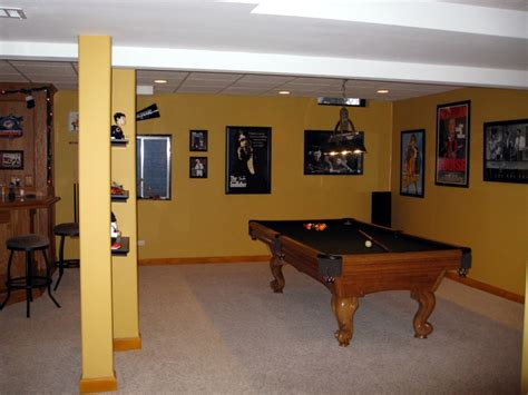Basement Finishing Finished Basements Basement Remodeling Illinois Outback Builders Algonquin Il