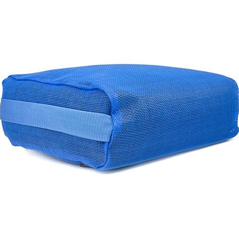 bathtub cushion seat hot tub booster cushion submersible spa water seat blue