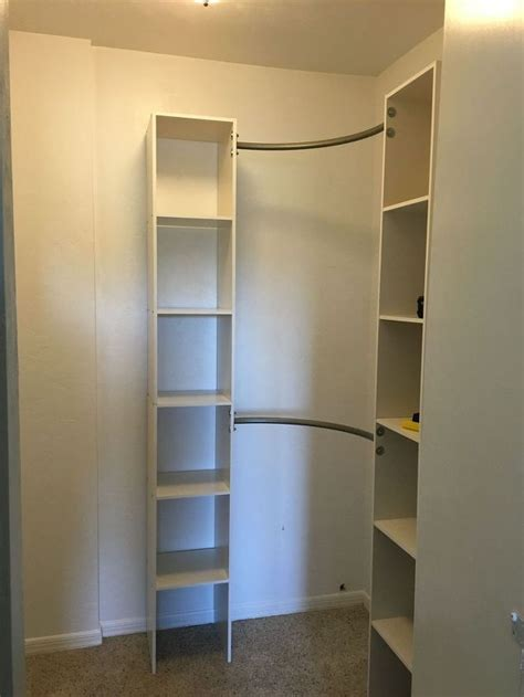 Lovely Organizing Clothes Closet Ideas #3: Corner-closet-diy-closet-diy-organizing.jpg?size=634x922