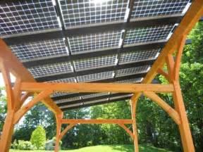 solar panel patio cover solar panel timber frame patio cover homespirations