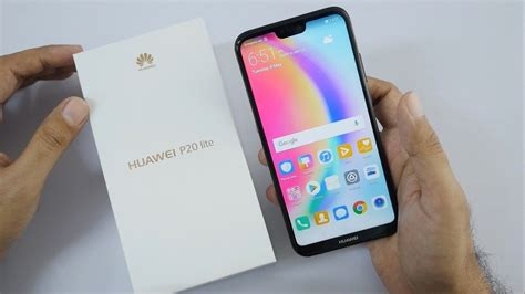 huawei p20 lite unboxing overview