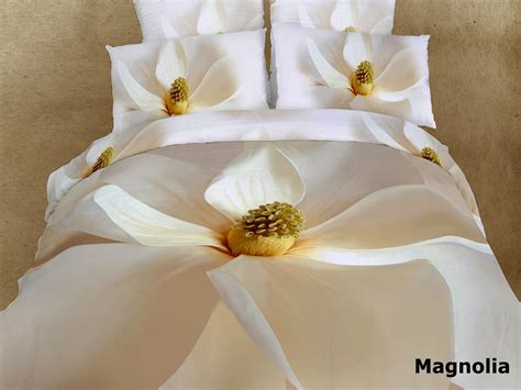 Tommony Bed Cover Magnolia magnolia by dolce mela 6 pcs duvet cover set bed in a bag size in dolce mela