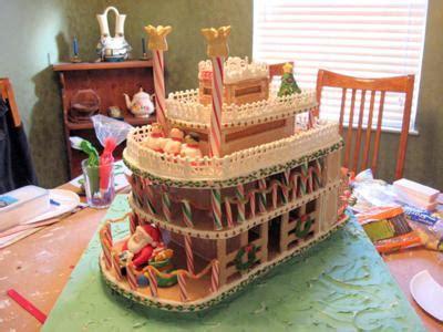 gingerbread river boat x mas christmas pinterest