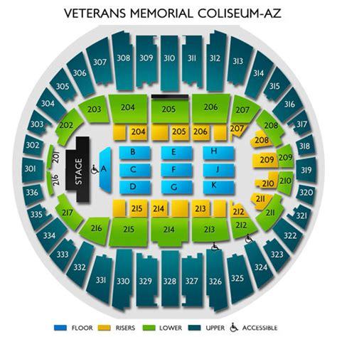 nassau coliseum floor plan veterans memorial coliseum at arizona state fair seating