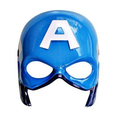 Mainan Topeng Batman The Ekslusife jual tme topeng captain america lu biru harga kualitas terjamin blibli