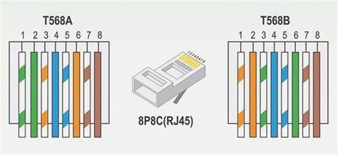rj network wiring schematic  wiring diagram