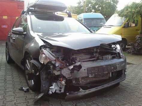 3 Tage Versicherung Auto by Front3 Unverschuldeter Unfall Mit 7 Tage Altem Golf 6