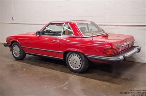 electric power steering 1987 mercedes benz sl class regenerative braking 1987 mercedes benz sl class 560sl 77 011 miles signal red 2 owner serviced for sale