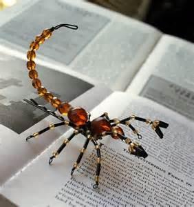 halloween craft ideas beaded spiders make handmade crochet craft