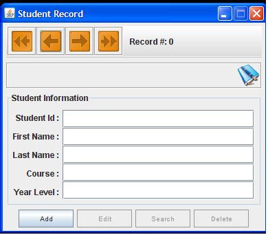 java swing projects source code download free download student record management system development