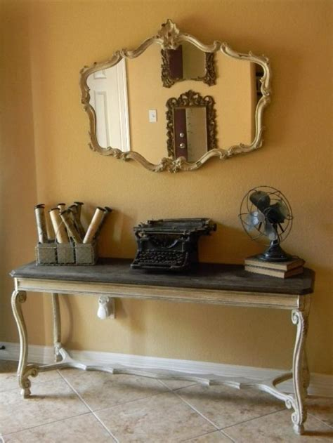 Adding Narrow Console Tables for Perfect Interior Room