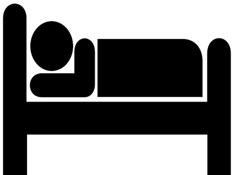 bed vector bed clipart black and white cliparts co