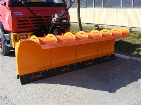 sectional snow plow pds