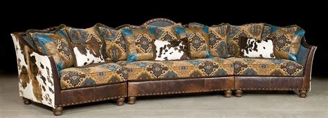 Patchwork Couches - pony and teal blue sectional sofa leather patchwork