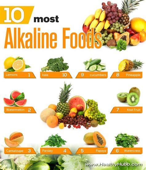 Manfaat Alkaline Detox Water by 25 Best Ideas About Alkaline Fruits On