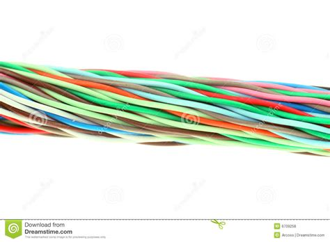 cable color color cable stock photo image of communication