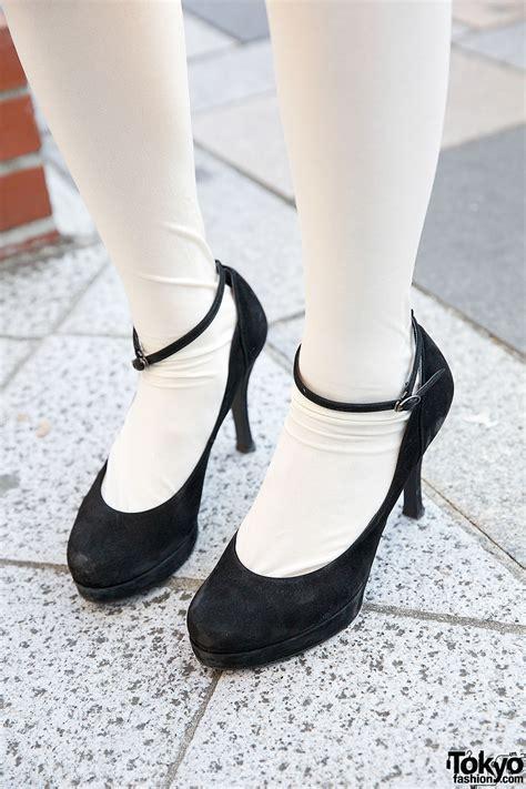 pastel mini skirt knee socks tsumori chisato backpack