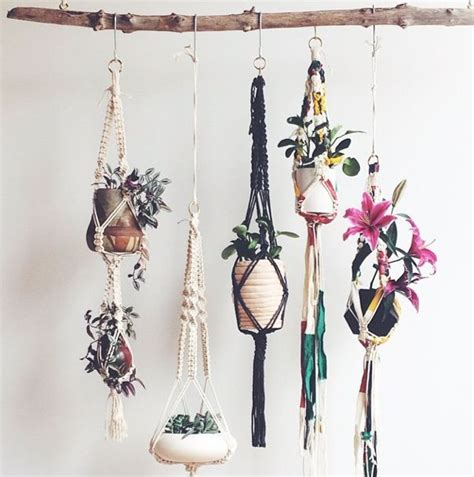 Macrame Plant Holder Tutorial - 25 best macrame curtain ideas on how to