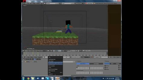 minecraft animation creator homeminecraft how to make 3d minecraft animations with blender youtube