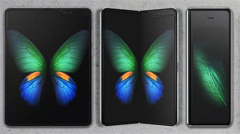 samsung galaxy fold smartphone  set