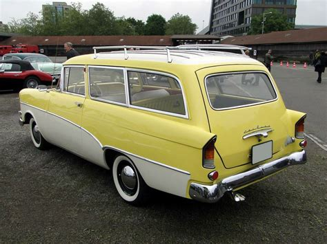 1957 Opel Olympia Rekord Station Wagon Station Wagons