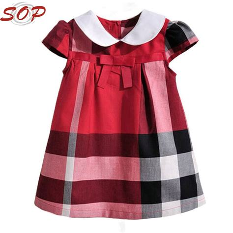 design little clothes new style costumes for kids fancy designs baby girls red