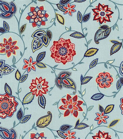 home decor print fabric waverly home decor print fabric lively trail heritage
