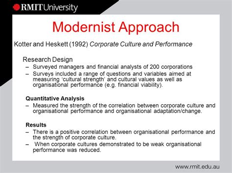 kotter heskett corporate culture and performance organisational culture ppt video online download
