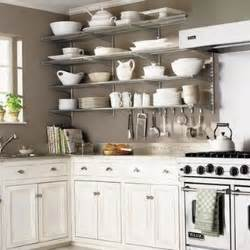 Open Shelf Kitchen Cabinet Ideas by Kitchen Trend Open Shelving