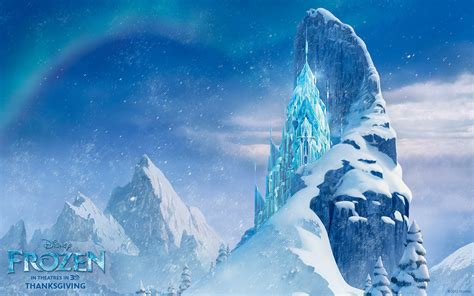 wallpaper snow frozen disney s new animation film frozen official wallpaper pack