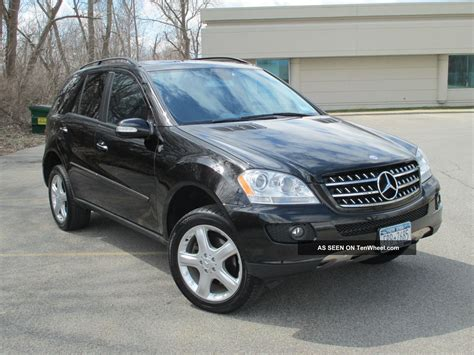 2006 mercedes ml500 4matic awd amg sport package