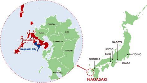 nagasaki map welcome visit nagasaki