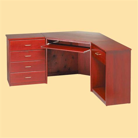 cherry wood corner desk corner desk cherry finish poplar 30 in h corner desk unit