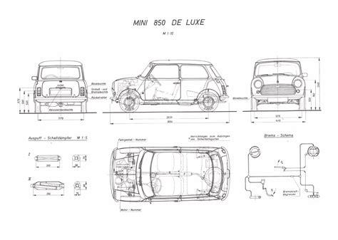 Mini Blue Print Mini 1968 Blueprint Free Blueprint For